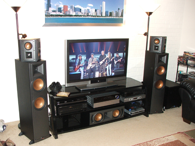 klipsch rf 35 39 s and rest of setup avs forum home theater discussions and reviews. Black Bedroom Furniture Sets. Home Design Ideas